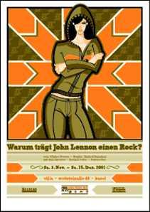 Warum trägt John Lennon einen Rock